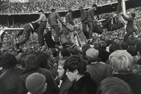 Tod Papageorge, College football game (Michigan vs. Ohio State), Ohio Stadium, Columbus, November 21, 1970