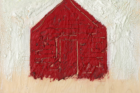 William Christenberry, Red Building, 2000