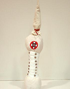 William Christenberry, Klan Doll, 1995