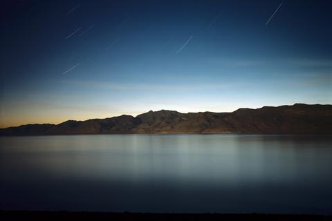 Richard Misrach, Pyramid Lake (At Night), 2004