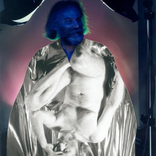 Lucas Samaras, Self Portrait, 6/15/90
