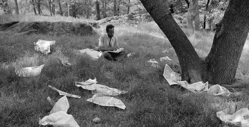 Tod Papageorge, Central Park, 1989