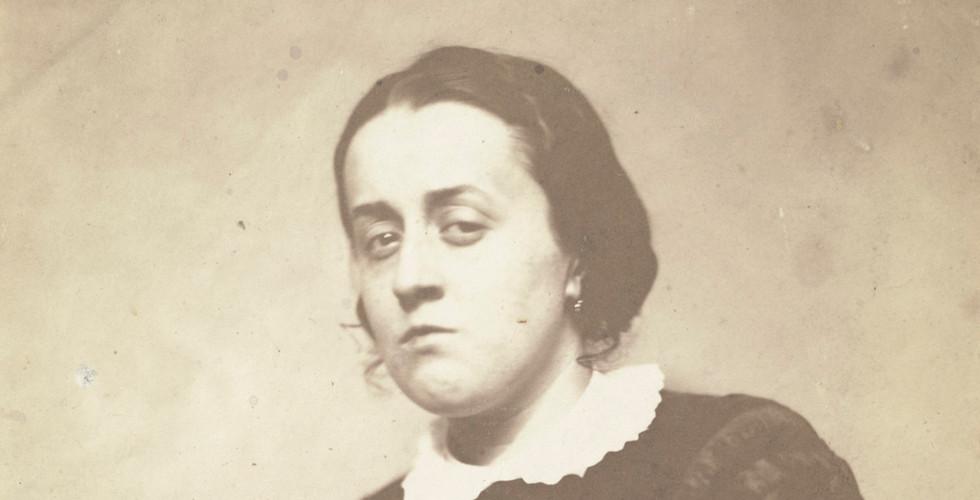 Nadar (Gaspard Félix Tournachon), Ernestine, 1854-55