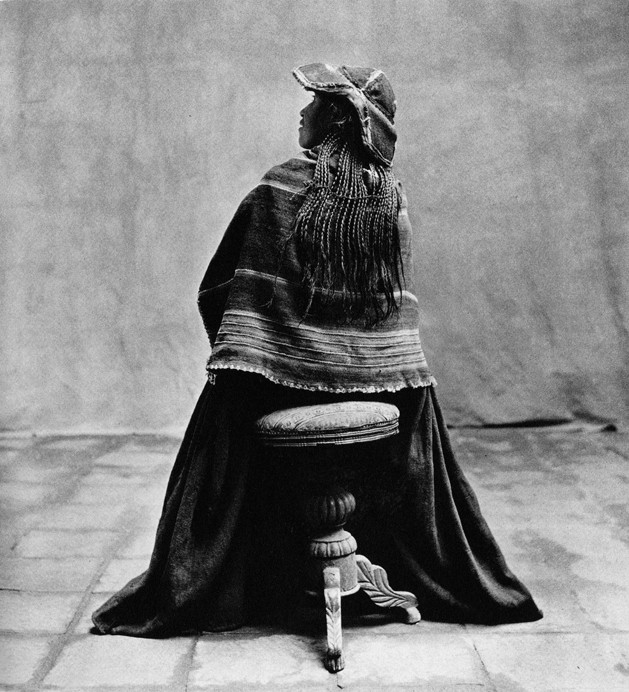 Irving Penn, Seated Indian Woman, Cuzco, 1948
