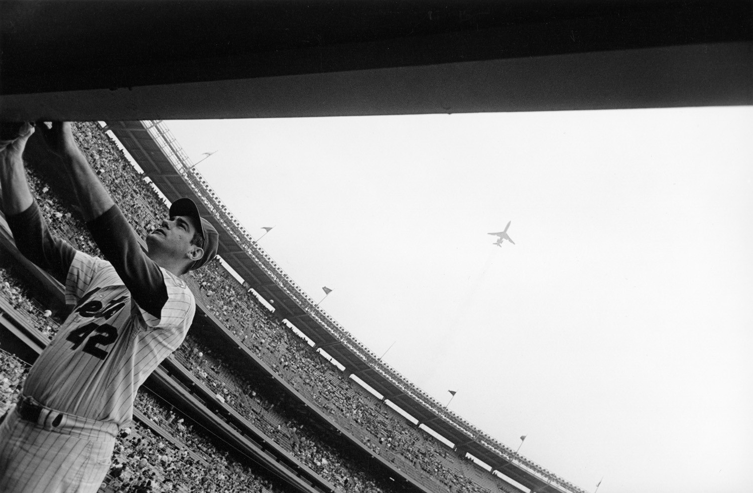 Tod Papageorge, Shea Stadium, New York, 1970