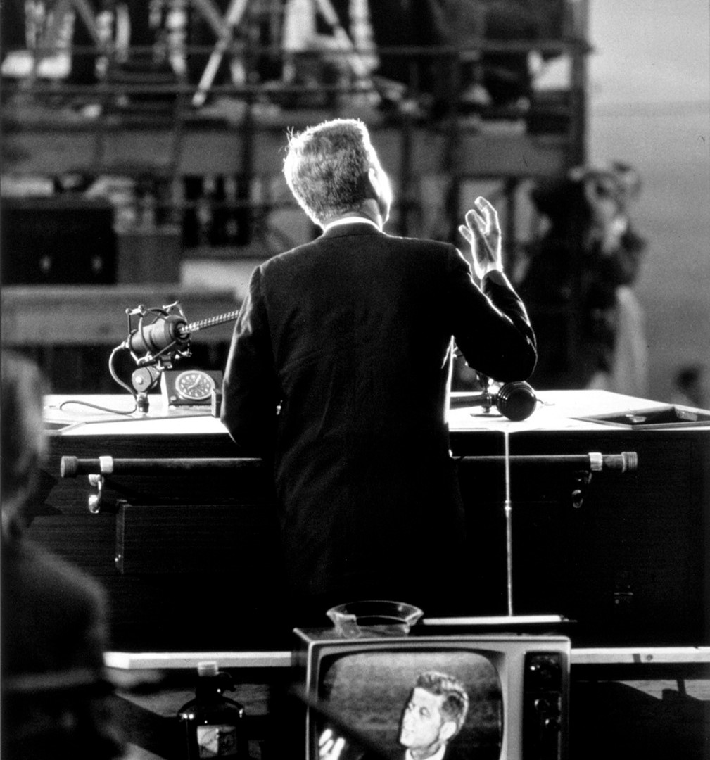 Garry Winogrand, Democratic National Convention, Los Angeles (JFK), 1960