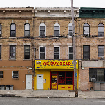 Paul Graham, Lilly's Gold Exchange, Brownsville, New York, 2013