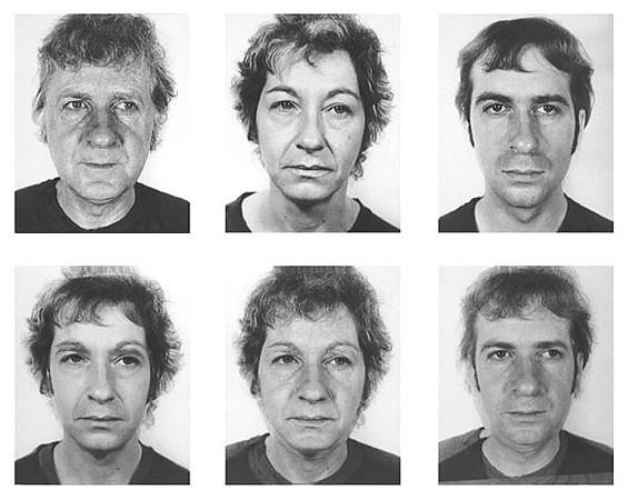 William Wegman, Family Combinations, 1972