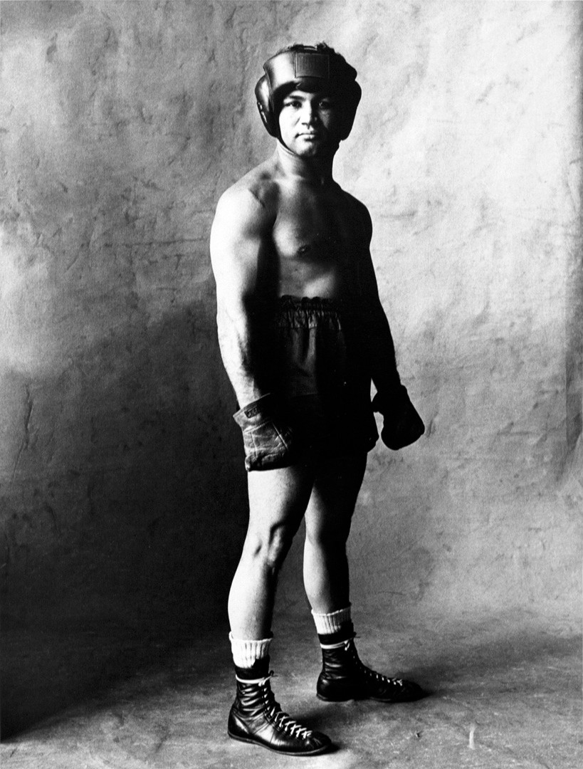 Irving Penn, Prize Fighter (A), New York, 1951