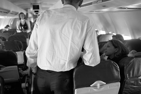 Larry Fink, Barack Obama, CO and NV, 2008