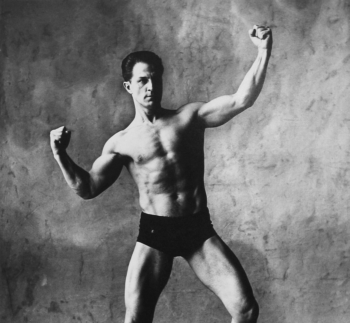Irving Penn, Muscle Builder (A), New York, 1951