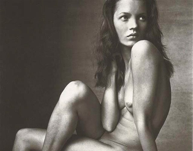 Irving Penn, Kate Moss (Hand on Neck), New York, 1996
