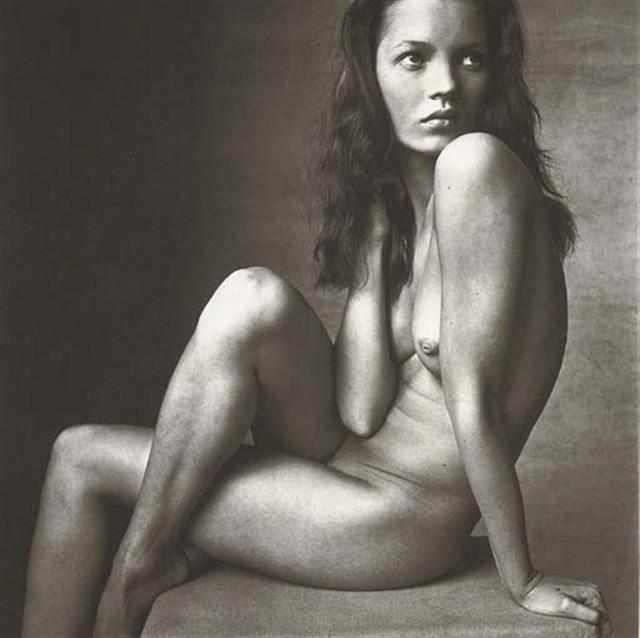 Irving Penn, Kate Moss (Hand on Neck), New York, 1996