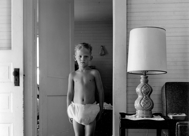 Emmet Gowin, Dwayne, Danville, Virginia, 1970