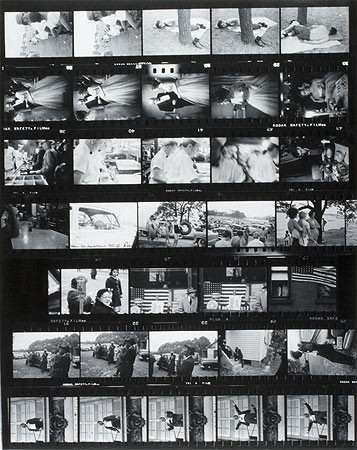 Robert Frank, Contact Sheet from The Americans, 1955-1956