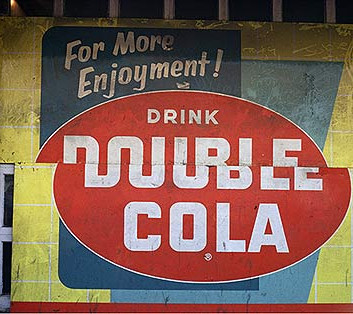 William Christenberry, Double Cola Sign, Beale Street, Memphis, Tennessee, 1966