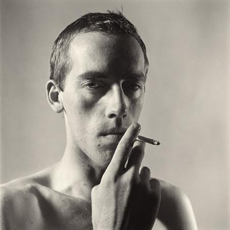 Peter Hujar, David Wojnarowicz Smoking, 1981