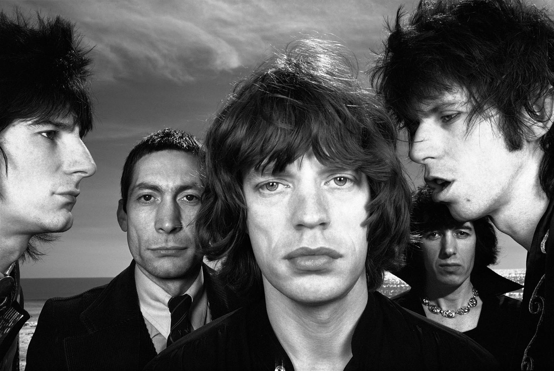 Hiro, The Rolling Stones, Sanibel Island, Florida, January 27, 1976