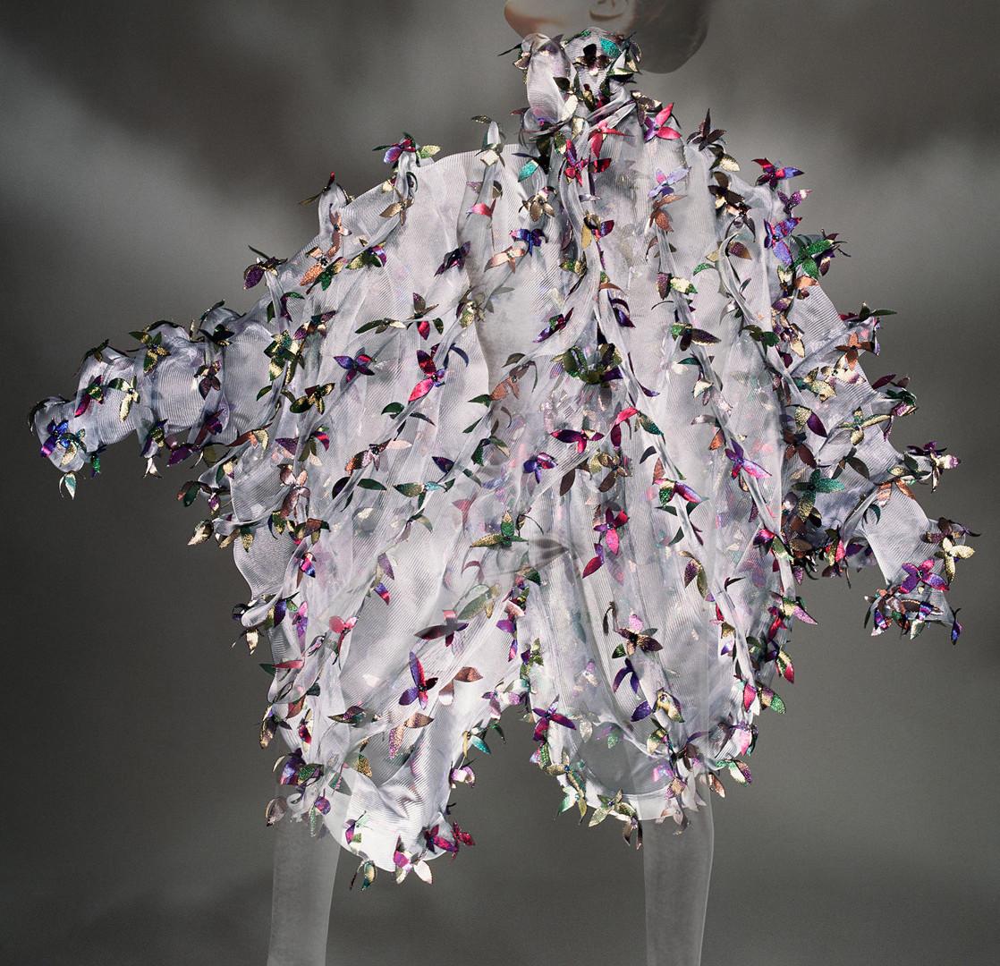 "Hiro, Koji Tatsuno, ""Butterfly Flower Cape,"" Andy Warhol's Interview, New York, 1992"