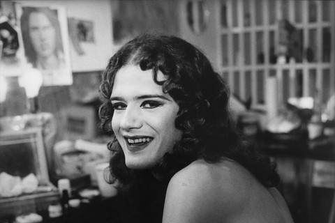 Peter Hujar, Drag Queen with Curly Hair, n.d.
