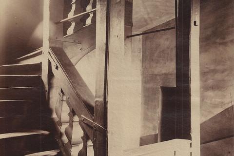 Eugène Atget, Escalier du vieux Paris, n.d.