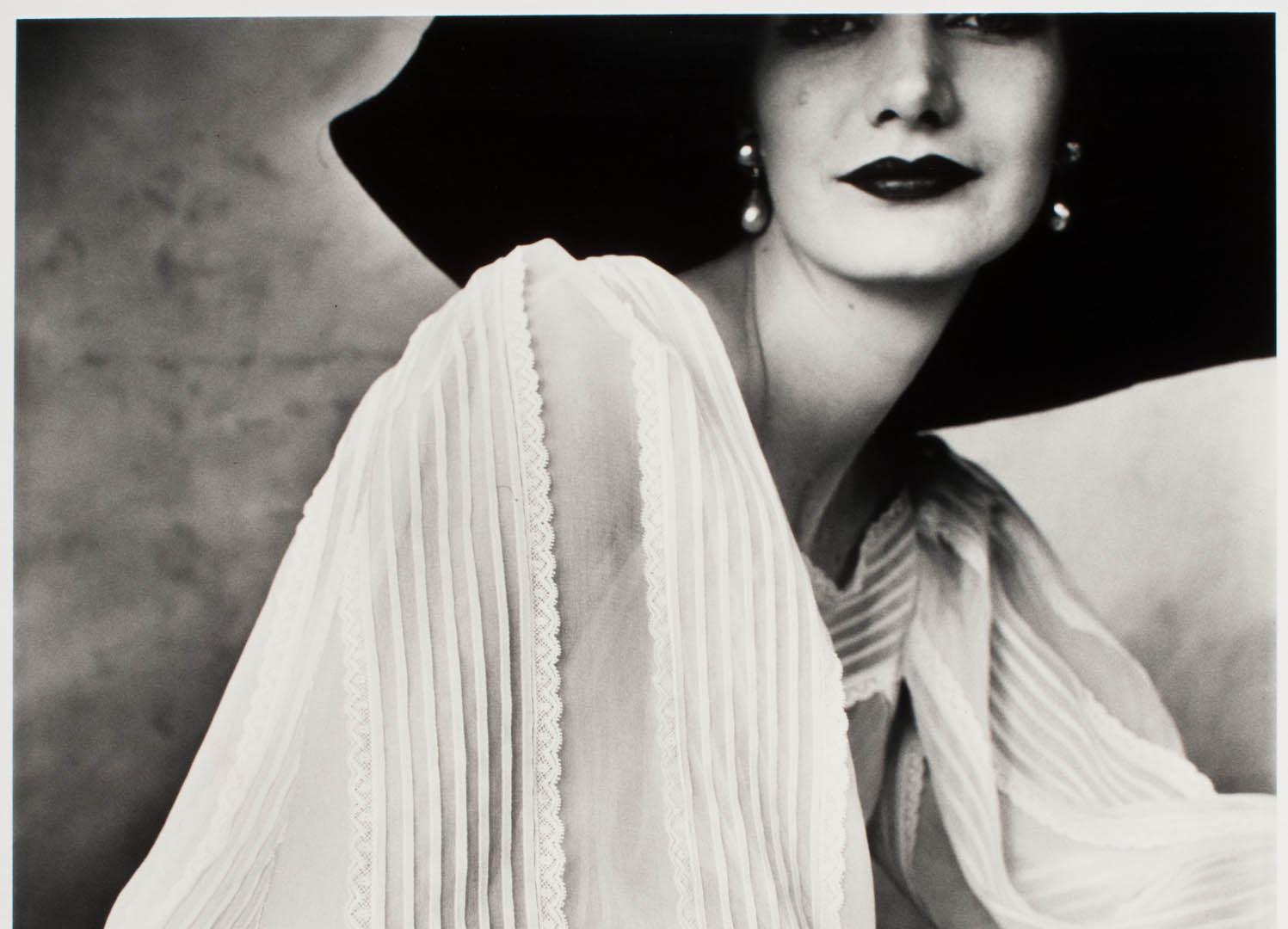 Irving Penn, Large Sleeve (Sunny Harnett), New York, 1951