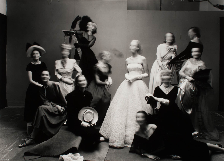 Irving Penn, 12 Models Moving Their Heads, New York, 1947
