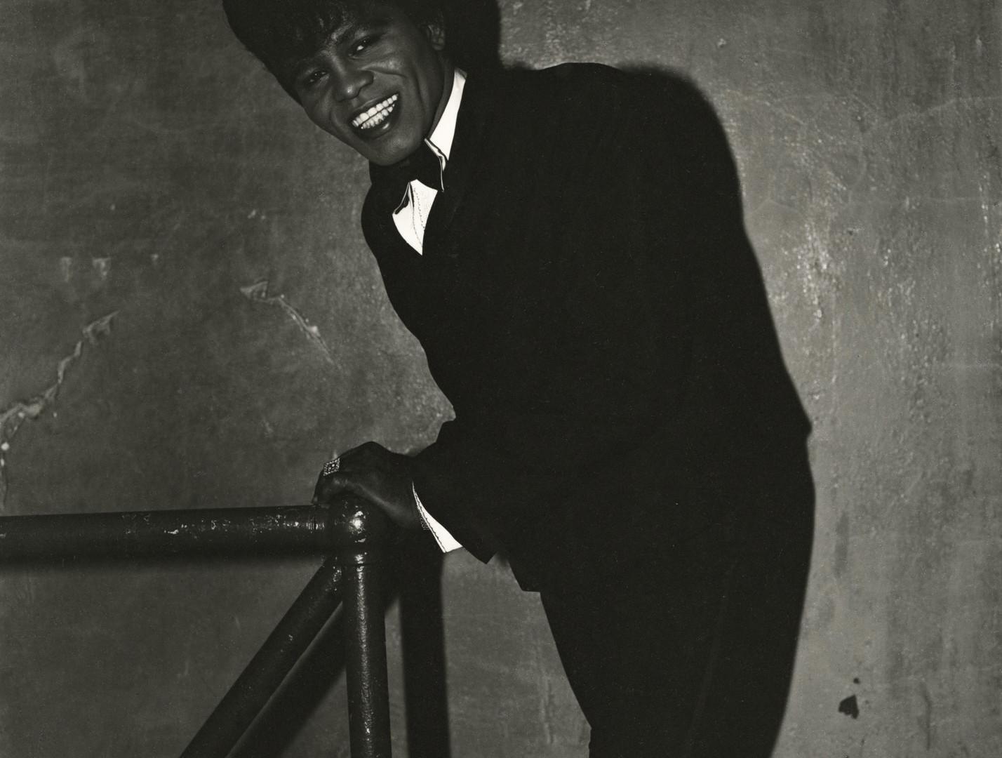 Diane Arbus, James Brown Backstage at the Apollo Theatre, N.Y.C., 1966