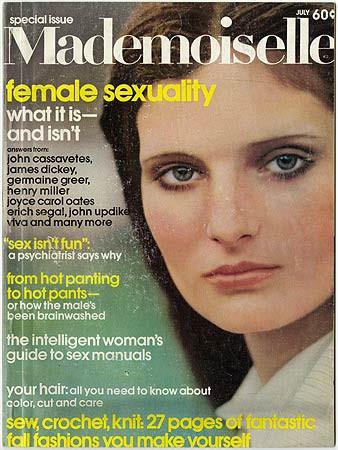 Robert Heinecken, Mademoiselle Magazine (Periodical #6), 1971