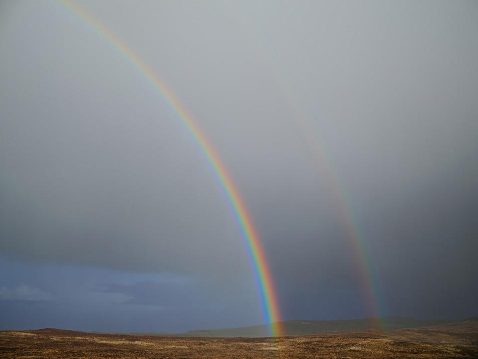 Paul Graham, Double Rainbow, Donegal, Ireland, 2013