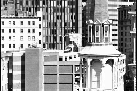 Nicholas Nixon, View of the Old South Meeting House, Boston, 2008