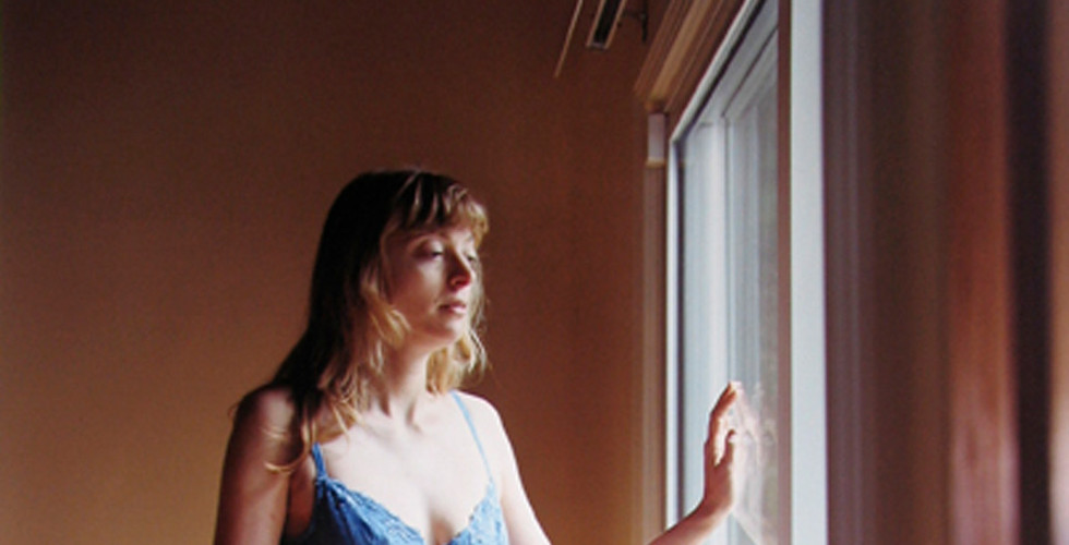Jocelyn Lee, Untitled (Janet in Blue Lingerie), 2001