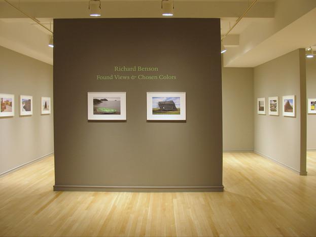 Richard Benson: Found Views and Chosen Colors