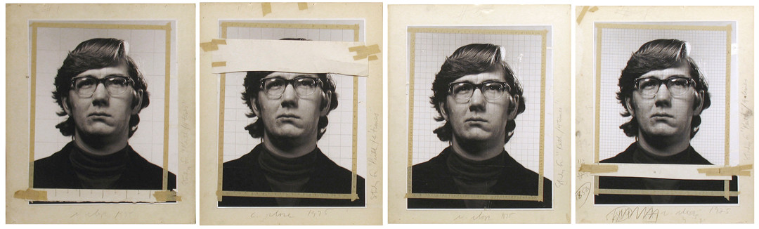 "Chuck Close, Study for ""Keith""/4 times, 1975"