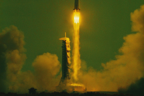 Hiro, Apollo 11 Maiden Voyage to the Moon, Cape Canaveral, Florida, July 16, 1969, 9:32 A.M.