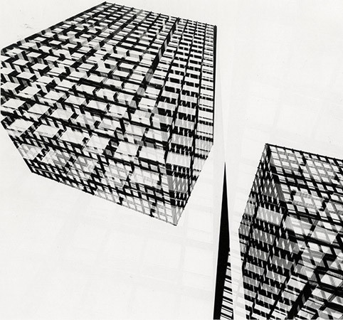 Harry Callahan, Chicago, c. 1953