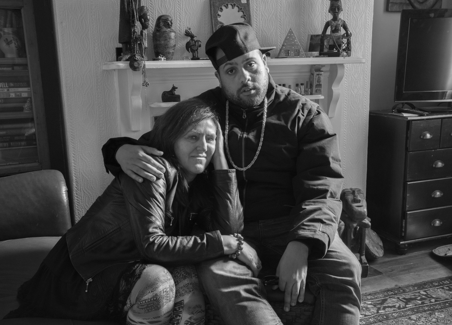 David Goldblatt, Paula Herriot and her son Eblon were in prison at the same time - he for firearms, robbery, wounding with intent, she for dealing cocaine, 2015