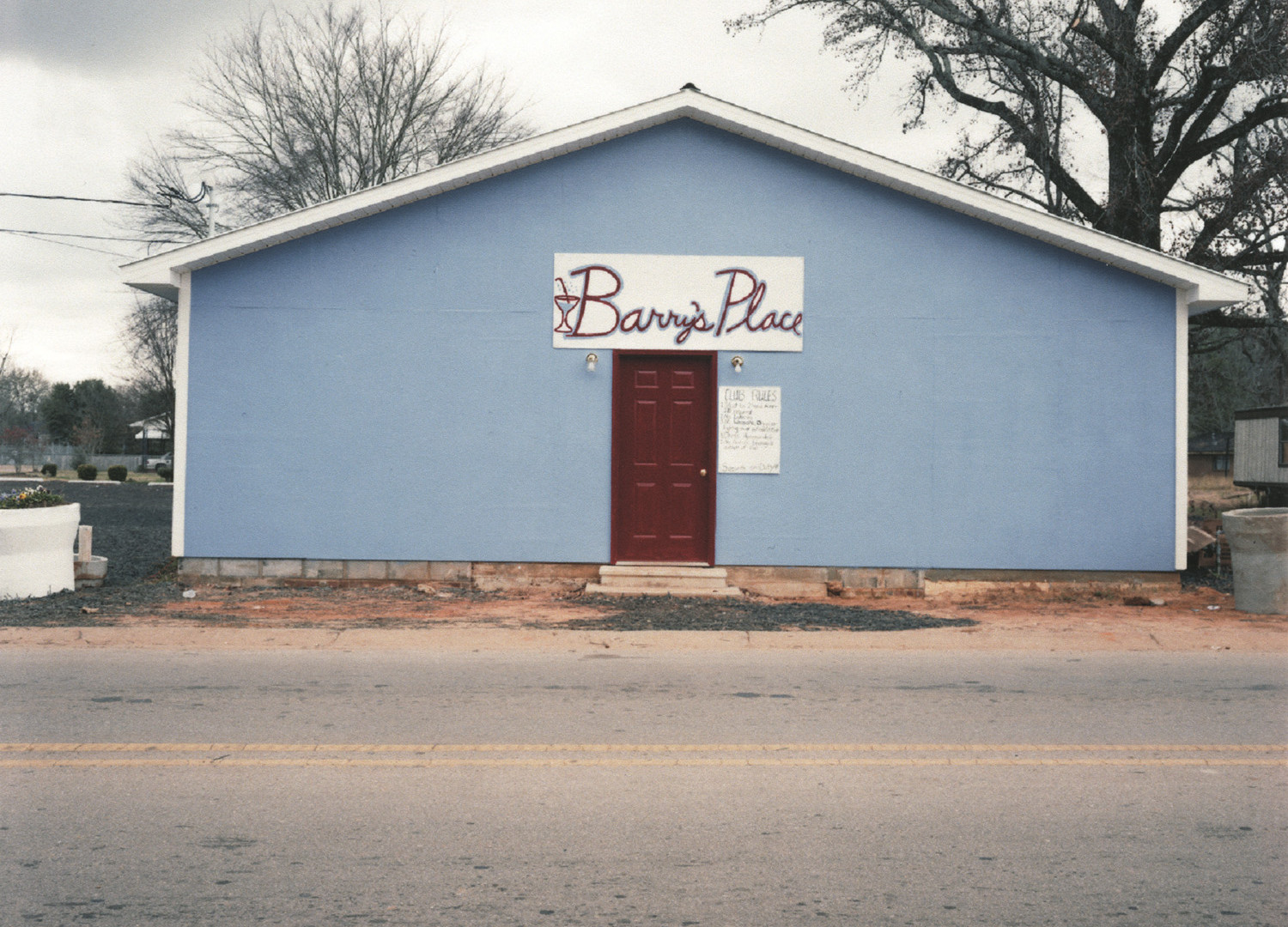 William Christenberry, Barry's Place, Greensboro, Alabama, 2000