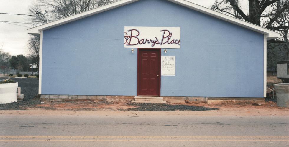 William Christenberry, Barry's Place, Greensboro, Alabama, 2000