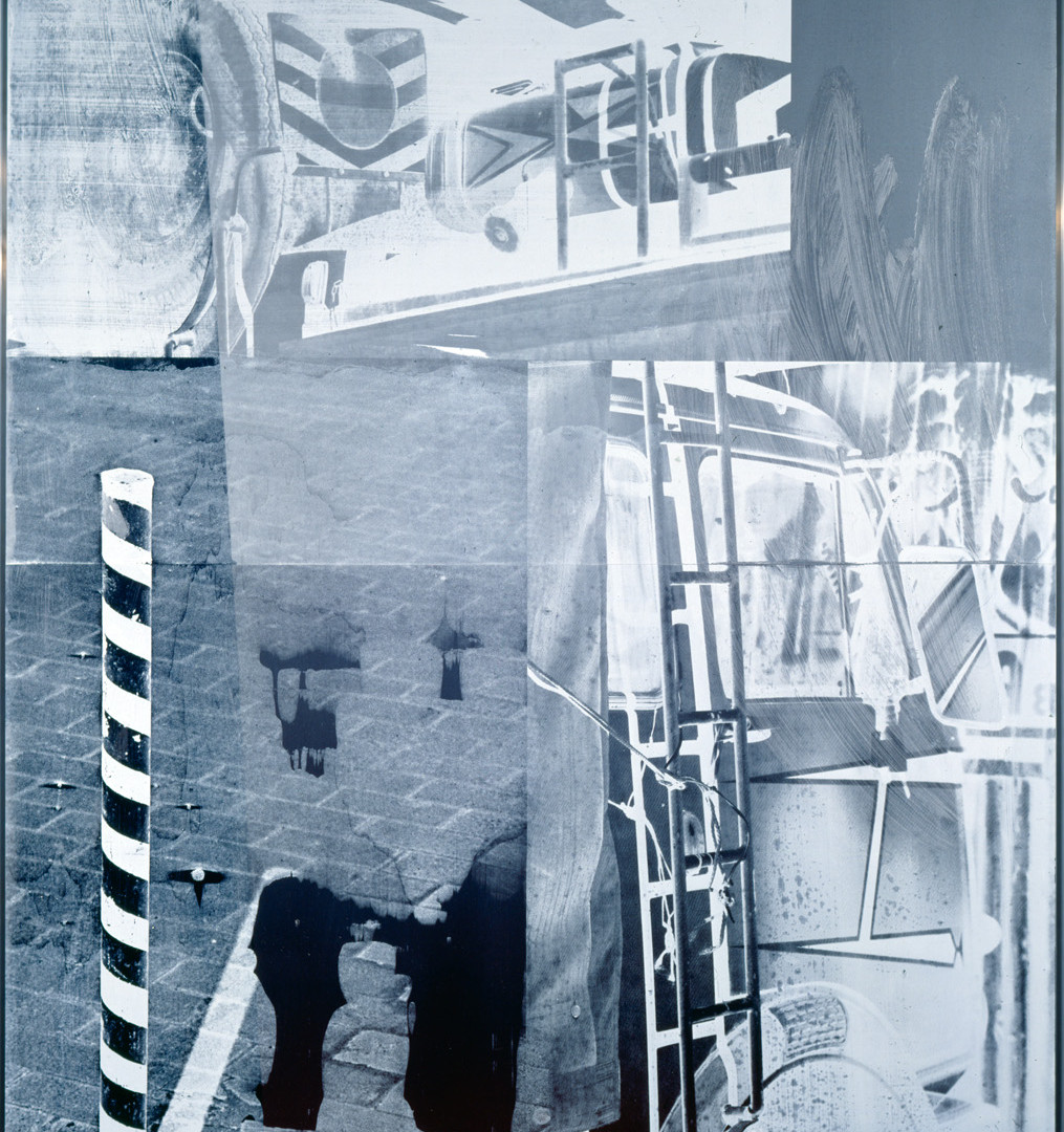 Robert Rauschenberg, Memory Light (Galvanic Suite), 1988