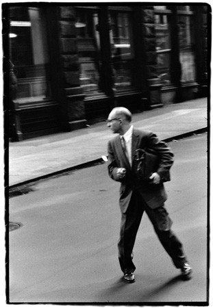 Robert Frank, From the Bus, New York, 1958