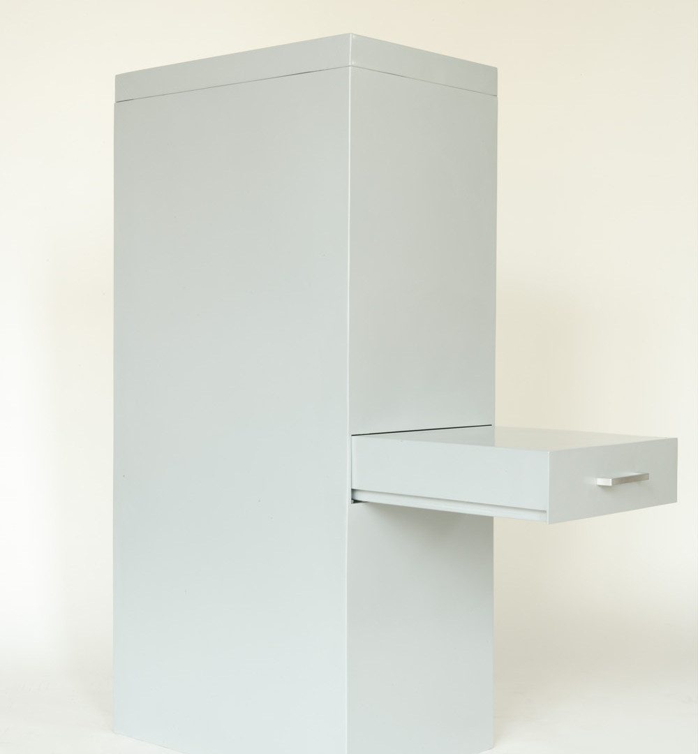 David Byrne, File Cabinet Grey Steel, 2006