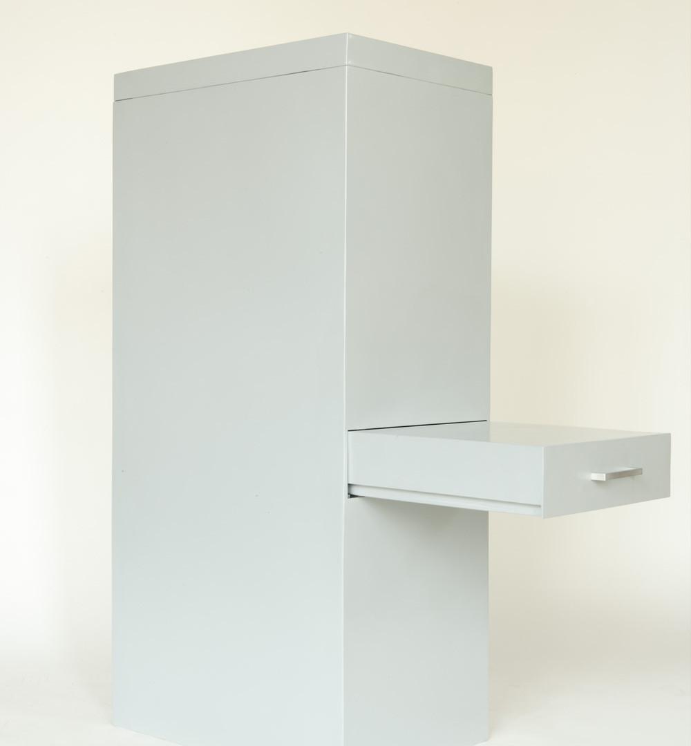 David Byrne, File Cabinet Grey Steel, 2006