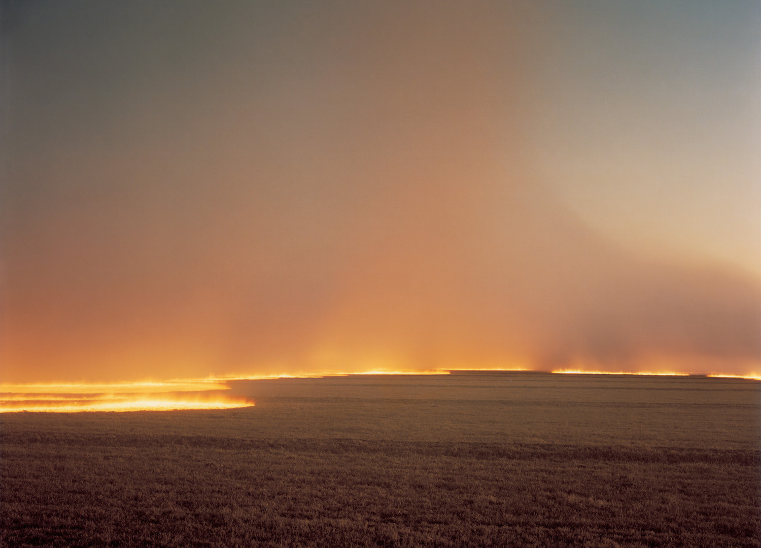 Richard Misrach, Desert Fire #249, 1985