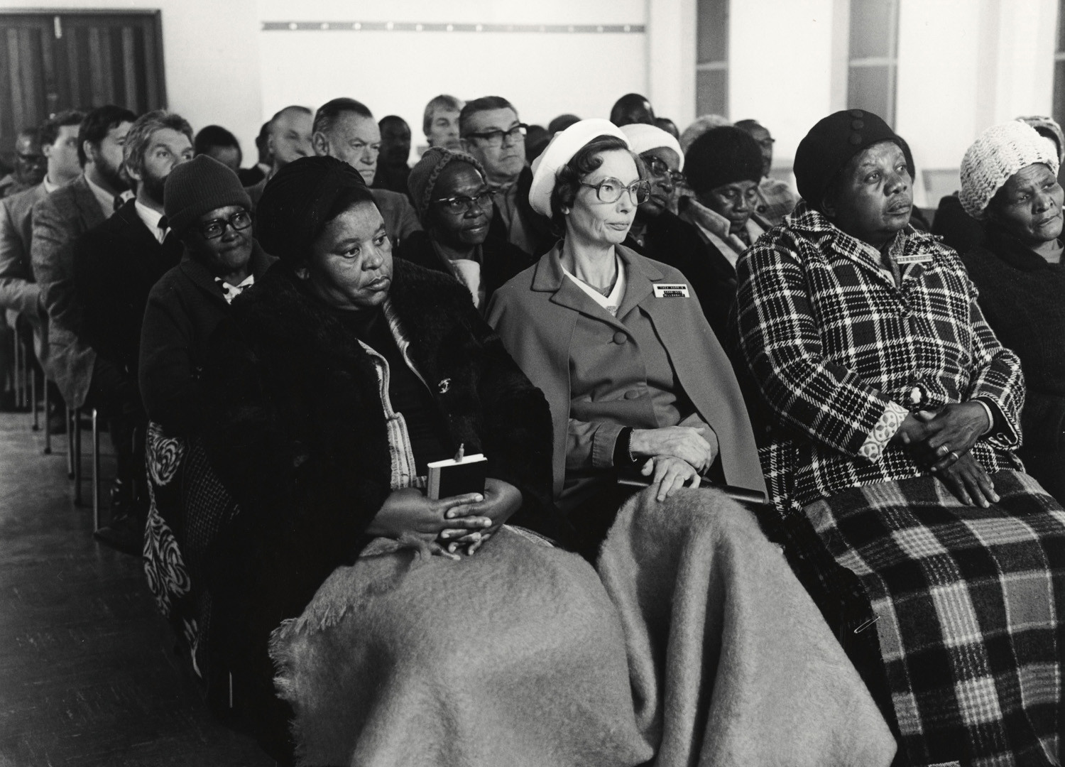 David Goldblatt, Methodists meet to find ways of reducing the racial, cultural and class barriers that divide them, 3 July 1980