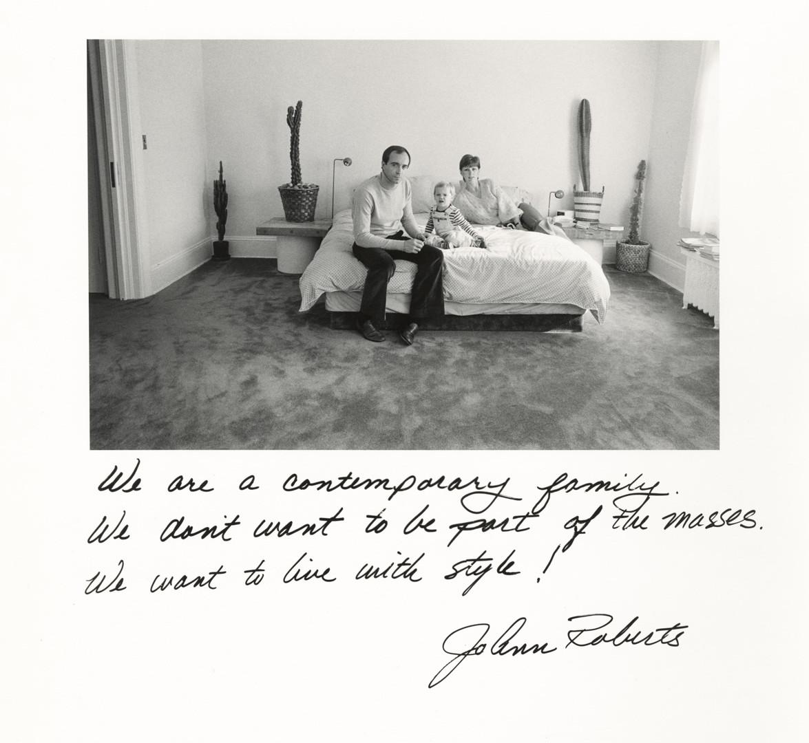 Jim Goldberg, JoAnn Roberts, 1980