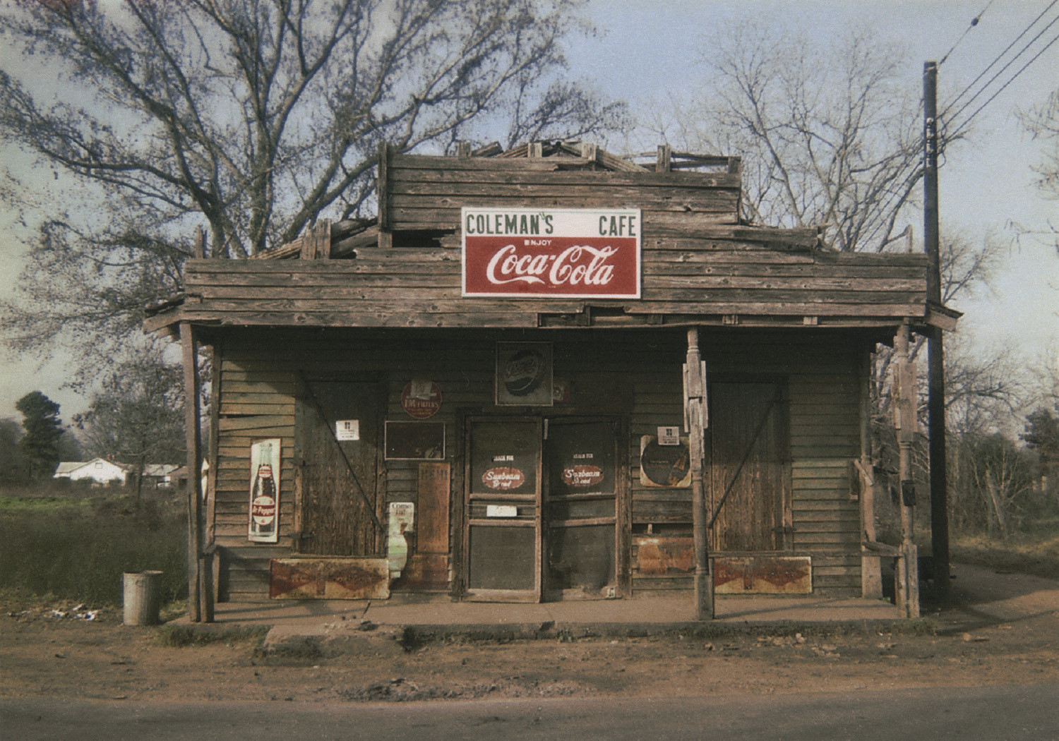William Christenberry, Coleman's Café, Greensboro, Alabama, 1971