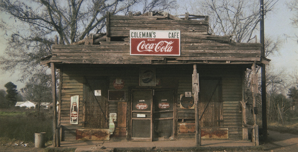 William Christenberry, Coleman's Café, Greensboro, Alabama, 1971
