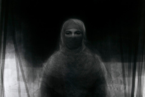 Ken Kitano, 23 Muslim women wearing the burka, July 27, 2008, Nira