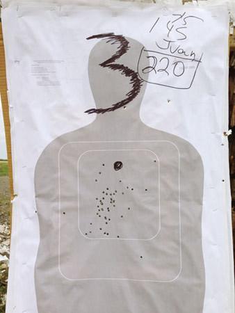 Richard Misrach, Border Patrol target #46, near Gulf of Mexico, Texas / Blanco de la Patrulla Fronteriza no. 46, cerca del golfo de México, Texas, 2014